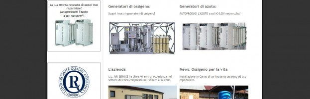 Impianti ad aria compressa, refrigerazione industriale, generatori di ossigeno ed azoto