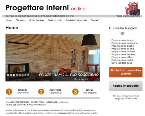 Progettare Interni - architetto on line