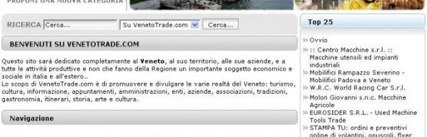 Il sito per le Aziende e le Attività Venete